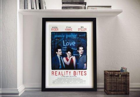 Framed Reality Bites Movie Poster