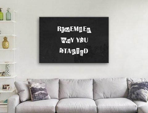 Remember Artwork Gift Ideas for Entrepreneurs