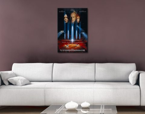 The Fifth Element Movie Poster Wall Print