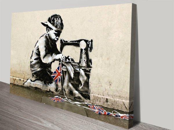 Banksy Slave Labour Wall Art