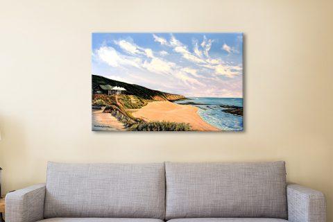 Beach View Canvas Print Gift Ideas Online