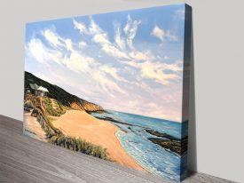 Beach View Sorrento Linda Callaghan Art