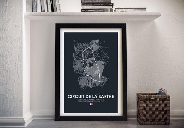 Framed Le Mans F1 Art Gift Ideas Online