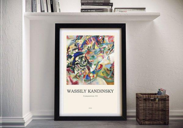 Composition Vll Framed Kandinsky Artwork AU
