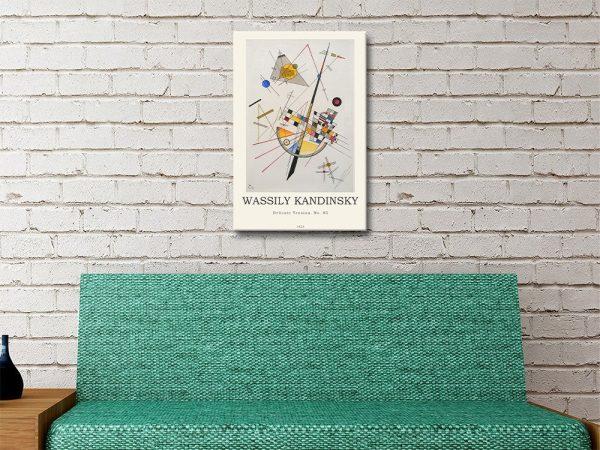 Delicate Tension Kandinsky Modern Print