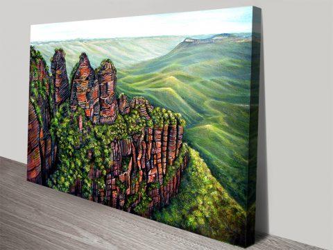 Blue Mountains Landscape Art Gallery Sale