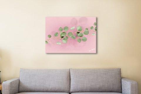 Eucalyptus in Pink Print Unique Gift Ideas AU