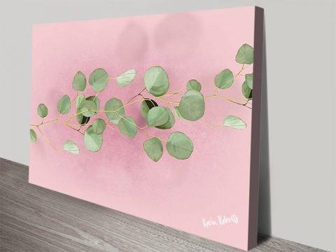 Eucalyptus in Pink Australian Wall Art