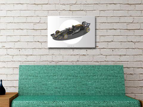 Haas F1 High Resolution Wall Art Online