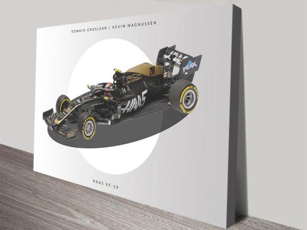 Haas VF19 F1 Art Home Decor Ideas Online