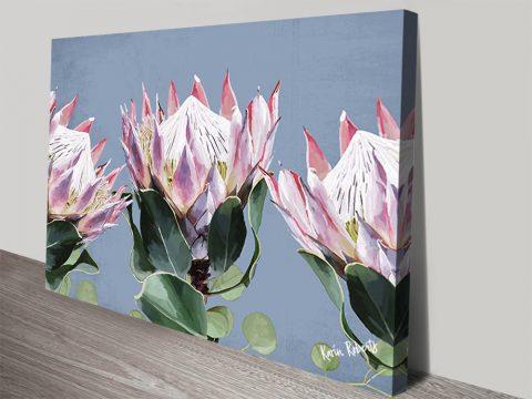 Karin Roberts Affordable Floral Canvas Art