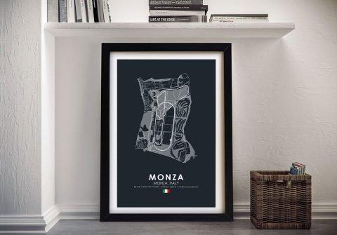 Buy a Monza Circuit Canvas Print Online