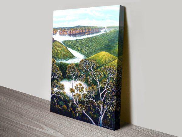 Rolling Mist Blue Mountains Wall Art