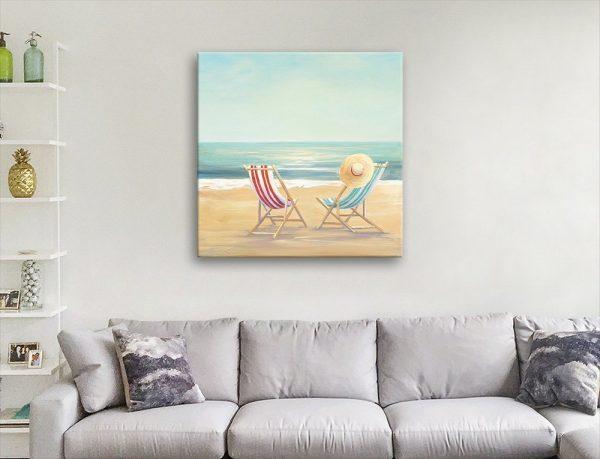 Julia Purinton Watercolour Beachscape