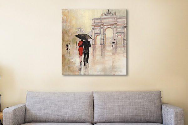 Romantic Paris Artwork Unique Gift Ideas AU
