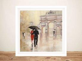 Romantic Paris ll World Cities Wall Art