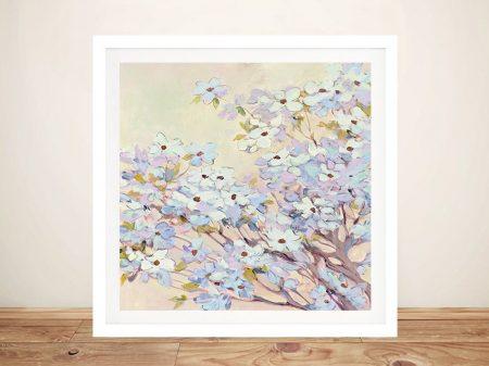 Spring Dogwood Delicate Floral Artwork