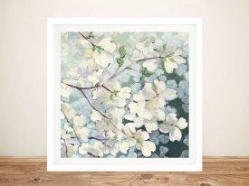 Magnolia Delight Framed Floral Wall Art