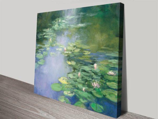 Blue Lily Fine Art Print Gift Ideas for Girls AU