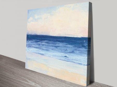 True Blue Ocean l Watercolour Print