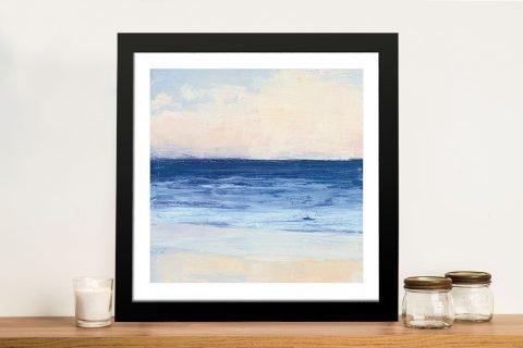 True Blue Abstract Seascape Cheap Online