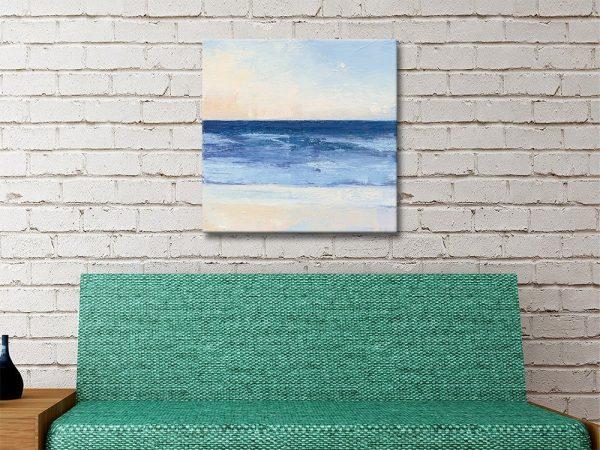 True Blue Ocean Seascape Print Gift Ideas AU