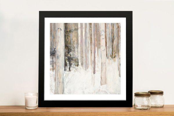 Warm Winter Light ll Framed Print for Sale