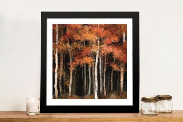 October Woods Julia Purinton Landscape