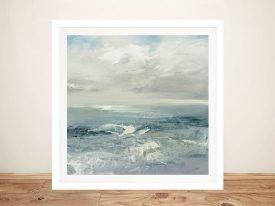 Buy Waves Framed Wall Art on Canvas