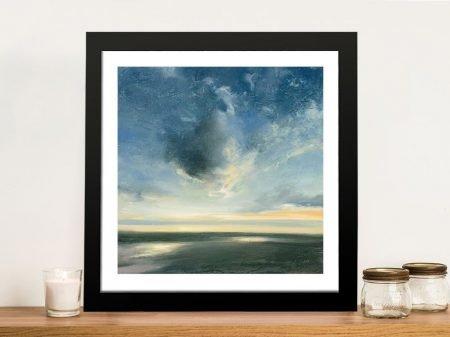 Coastal Sunrise Wall Art Print on Canvas