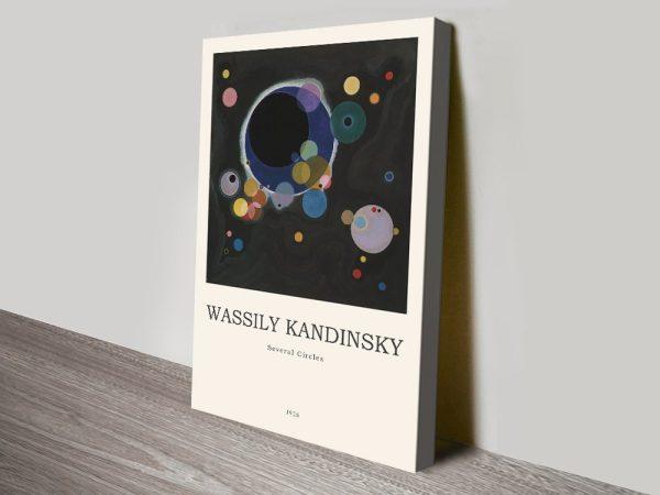 Several Circles Kandinsky Abstract Art Online