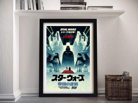 The Empire Strikes Back Framed Poster Print