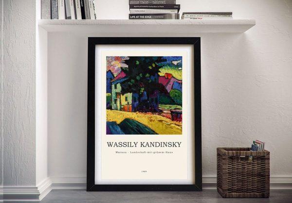 Buy a Framed Kandinsky Murnau Composition