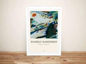 Romantic Landscape Kandinsky Composition