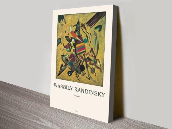 Kandinsky Points Composition Cheap Online