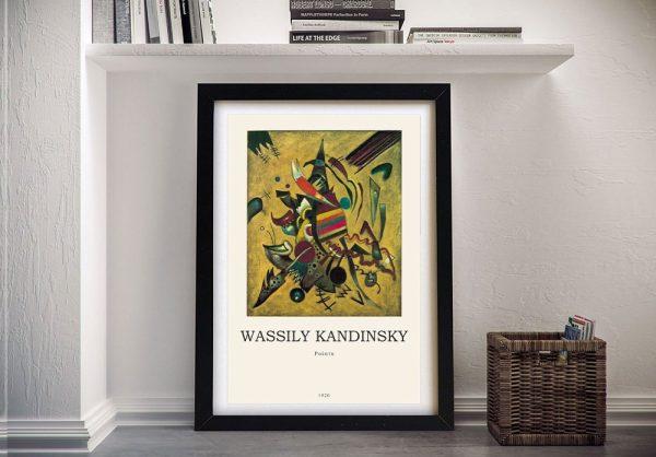 Points Kandinsky Modern Composition