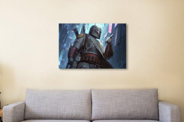 Boba Fett Art Star Wars Wall Art for Sale AU