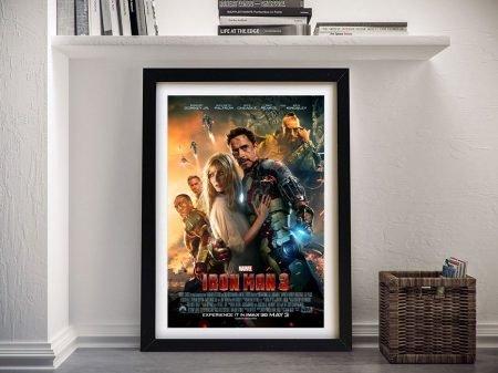 Iron Man 3 Movie Poster Wall Art