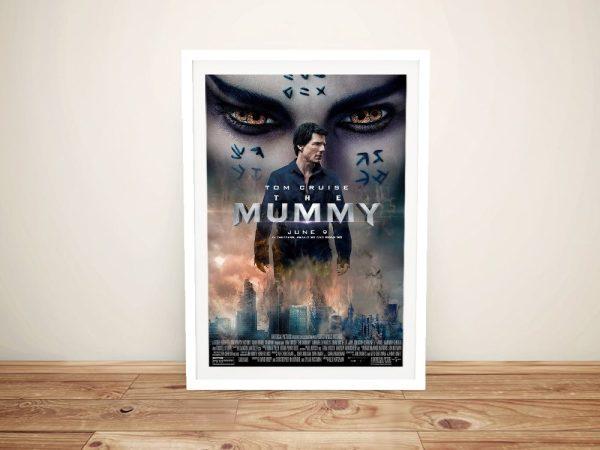 The Mummy Framed Movie Poster Artwork