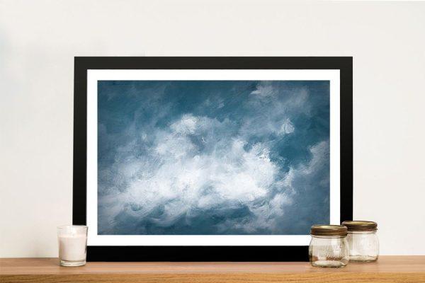 Hedgerow ll Clouds Atmospheric Artwork