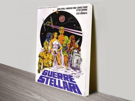 A New Hope Italian Star Wars Film Poster