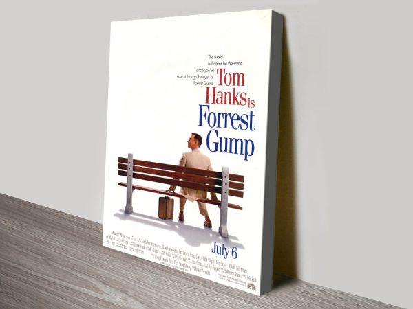Forrest Gump Poster Canvas Print