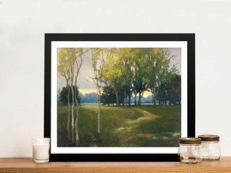 Again Tomorrow Framed Landscape Wall Art