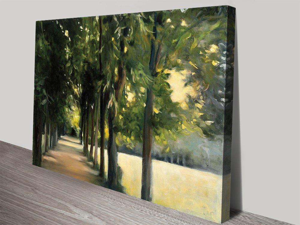 Promenade Landscape Art Home Decor AU