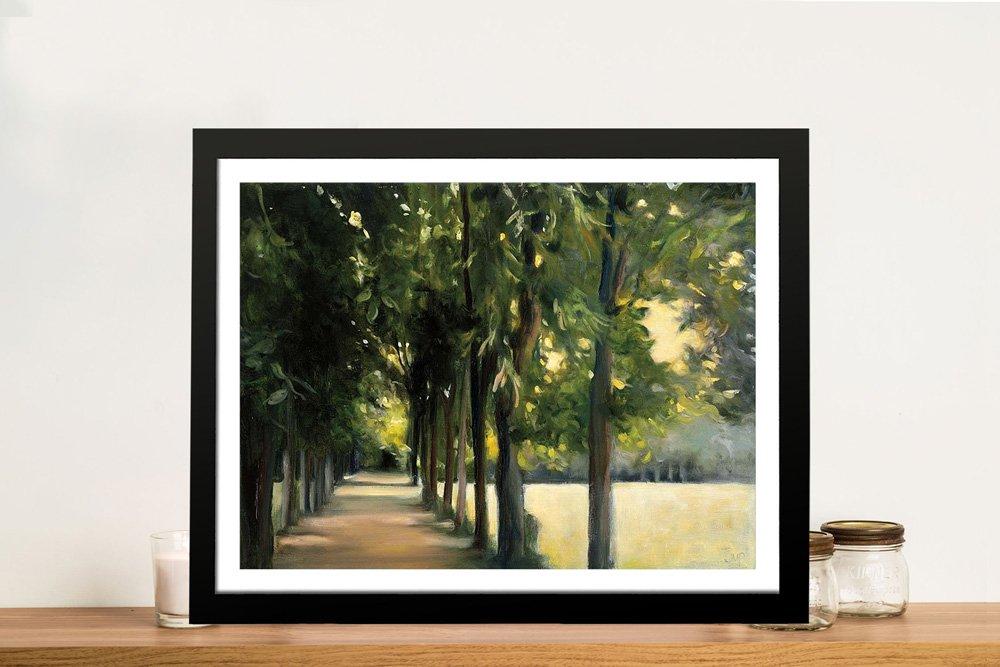 Promenade Landscape Stretched Canvas Art