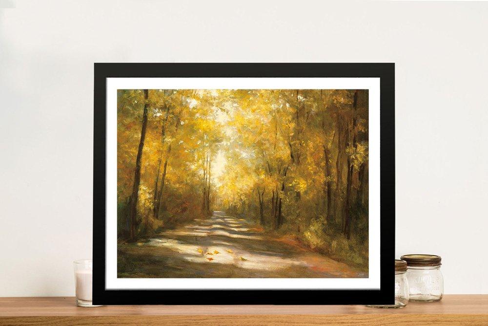 Gap Road Framed Landscape Print Online