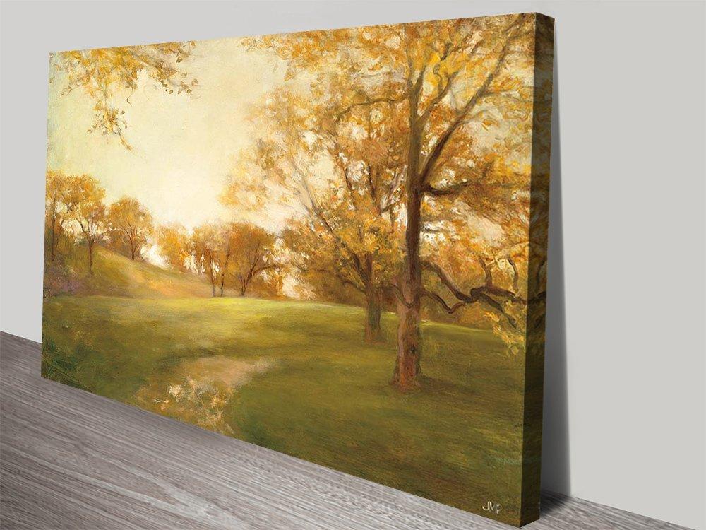 Midas Touch Watercolour Landscape Print