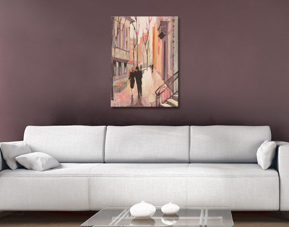 Village Promenade Wall Art Gift Ideas Online