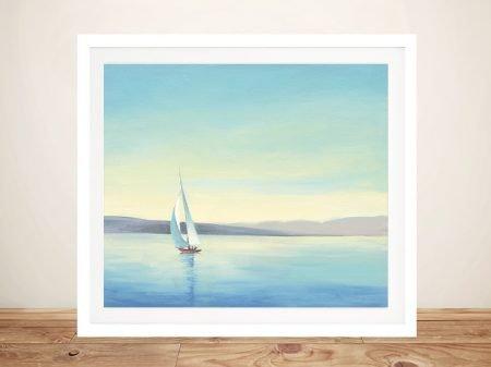 Buy Heading Home Seascape Canvas Print