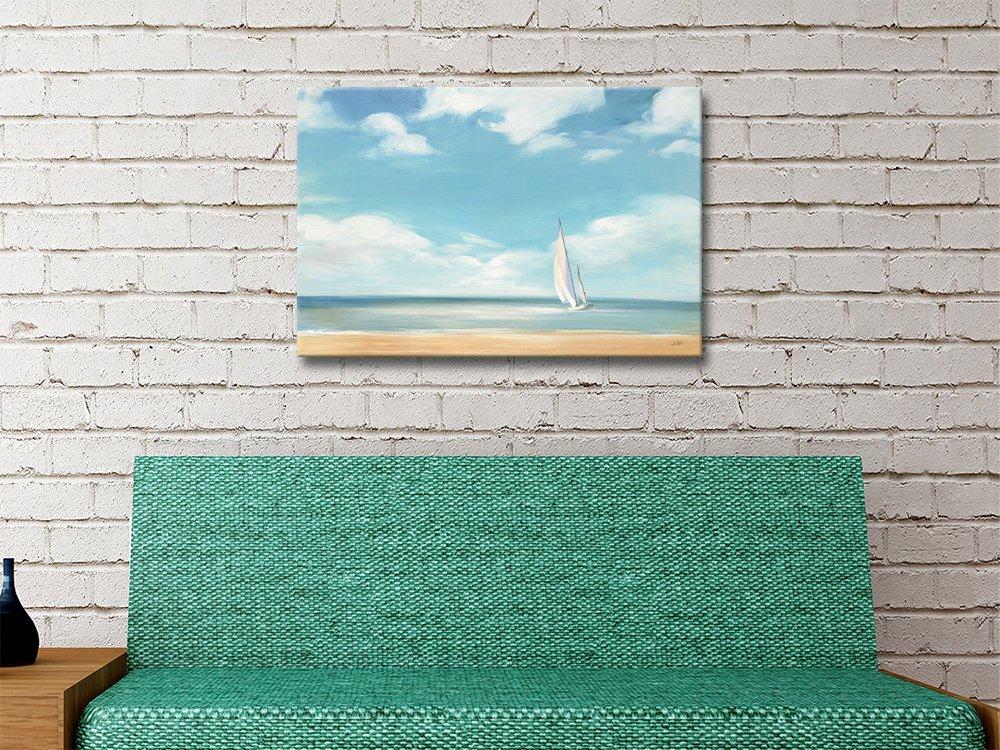 A Good Day Beachscape by Julia Purinton